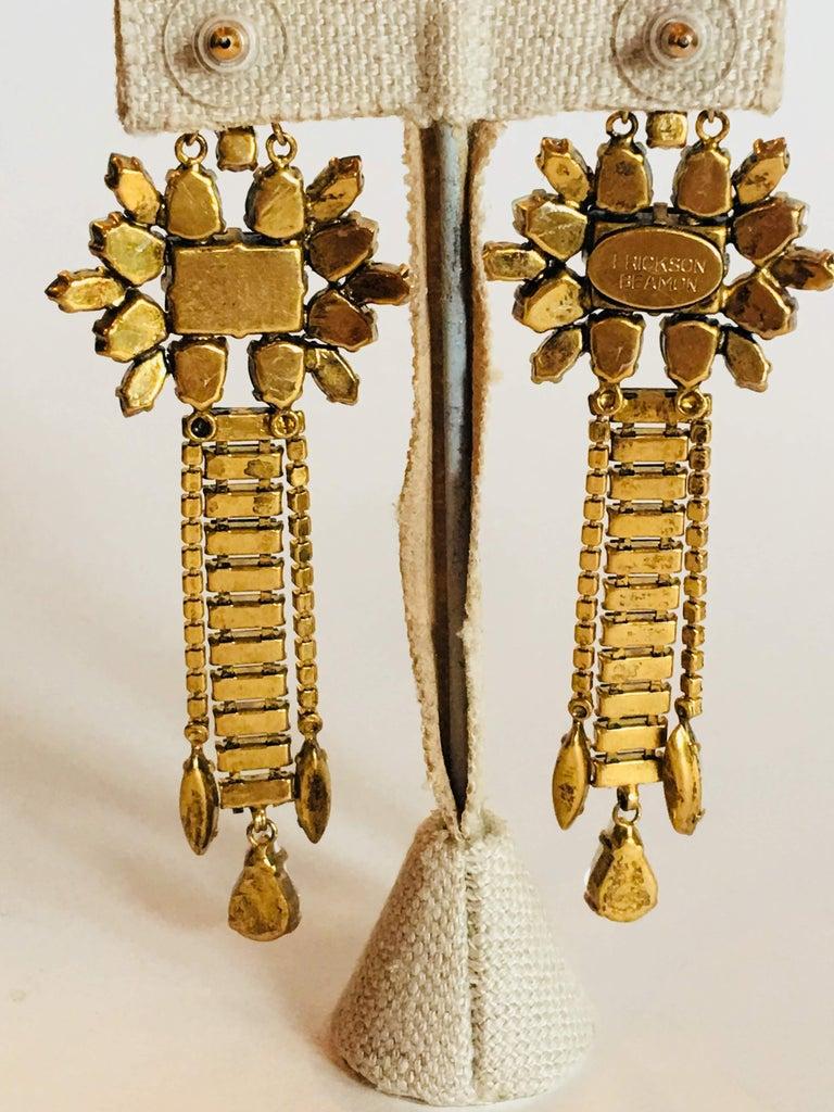Erickson Beamon 'Sound Garden' Earrings For Sale 6
