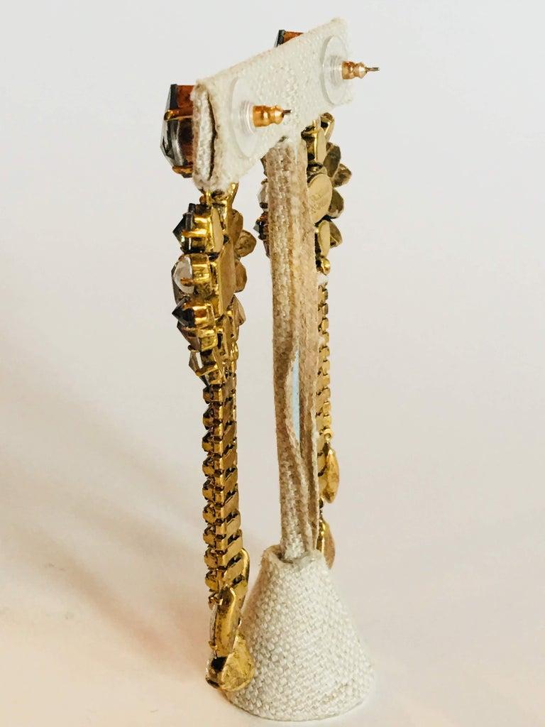 Erickson Beamon 'Sound Garden' Earrings For Sale 7