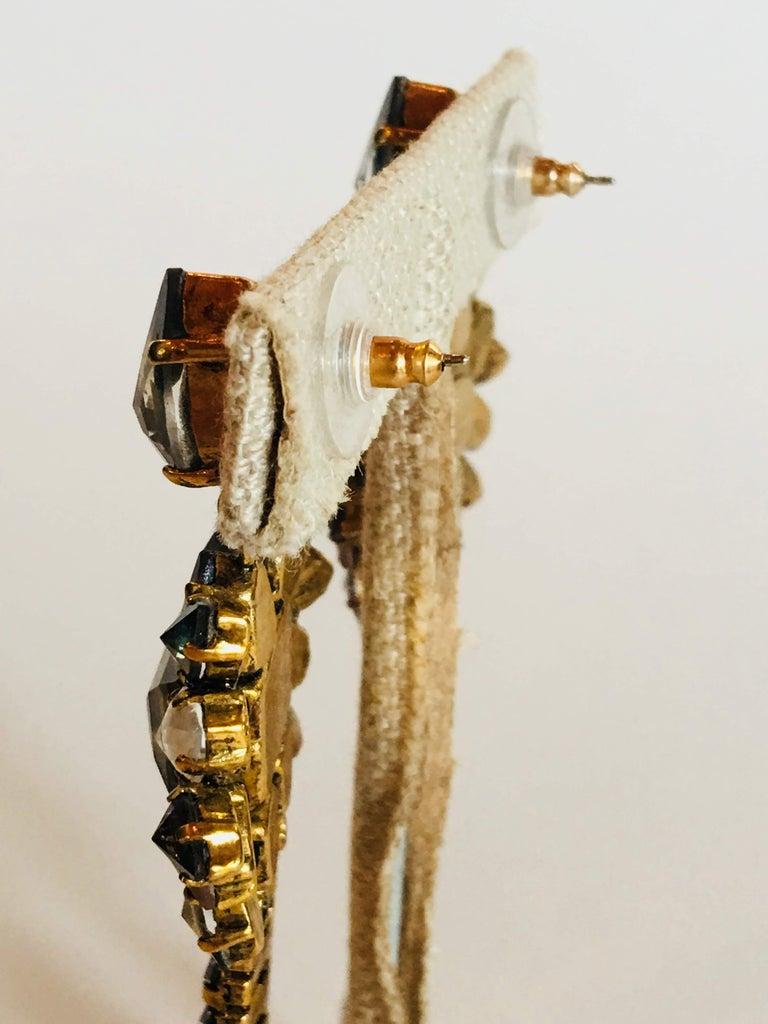 Erickson Beamon 'Sound Garden' Earrings For Sale 8