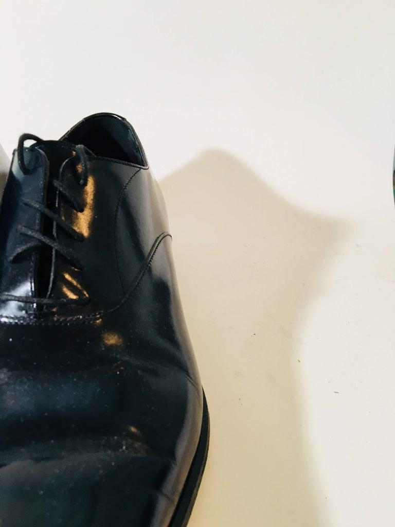 Black Mens Yves Saint Laurent Loafers