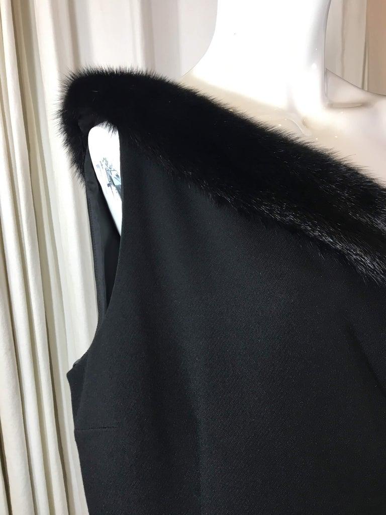 Michael Kors Black One Shoulder Dress For Sale 1