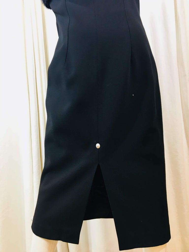 Michael Kors Black One Shoulder Dress For Sale 4