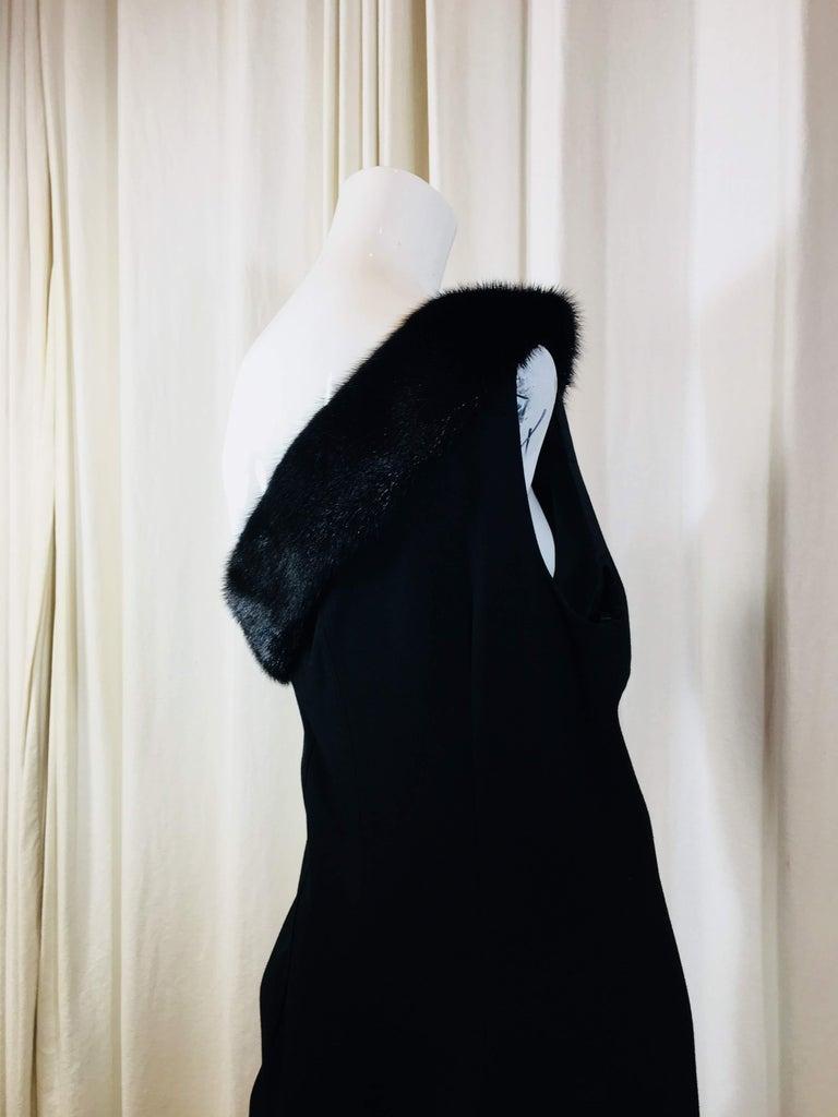 Michael Kors Black One Shoulder Dress For Sale 5