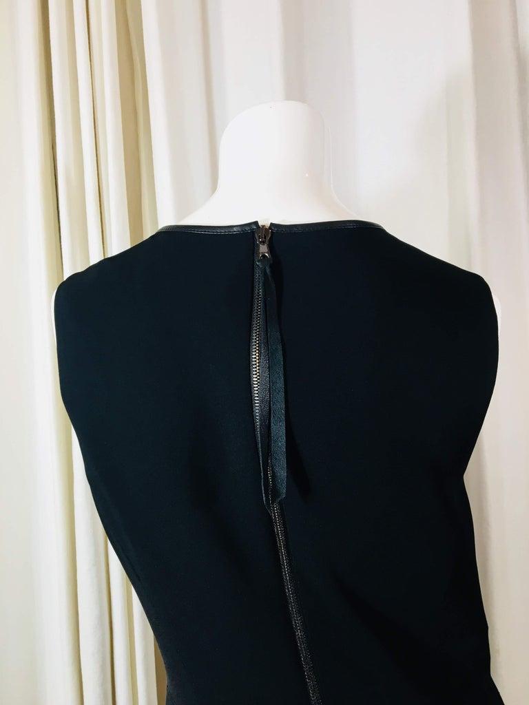 Rag & Bone Black Sleeveless Pleated Dress For Sale 2