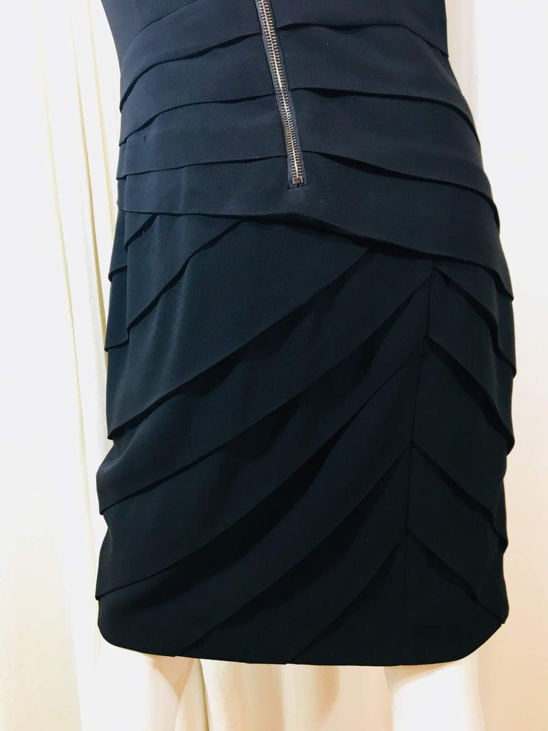 Rag & Bone Black Sleeveless Pleated Dress For Sale 4