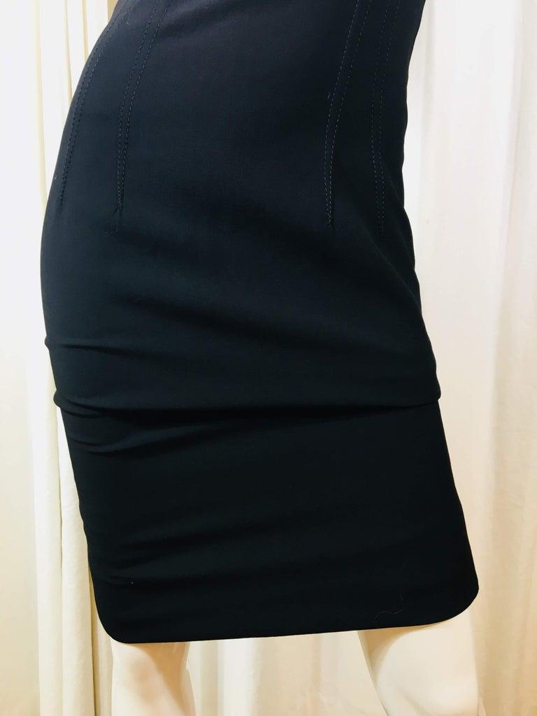 Dolce & Gabbana Black Sleeveless Dress For Sale 1