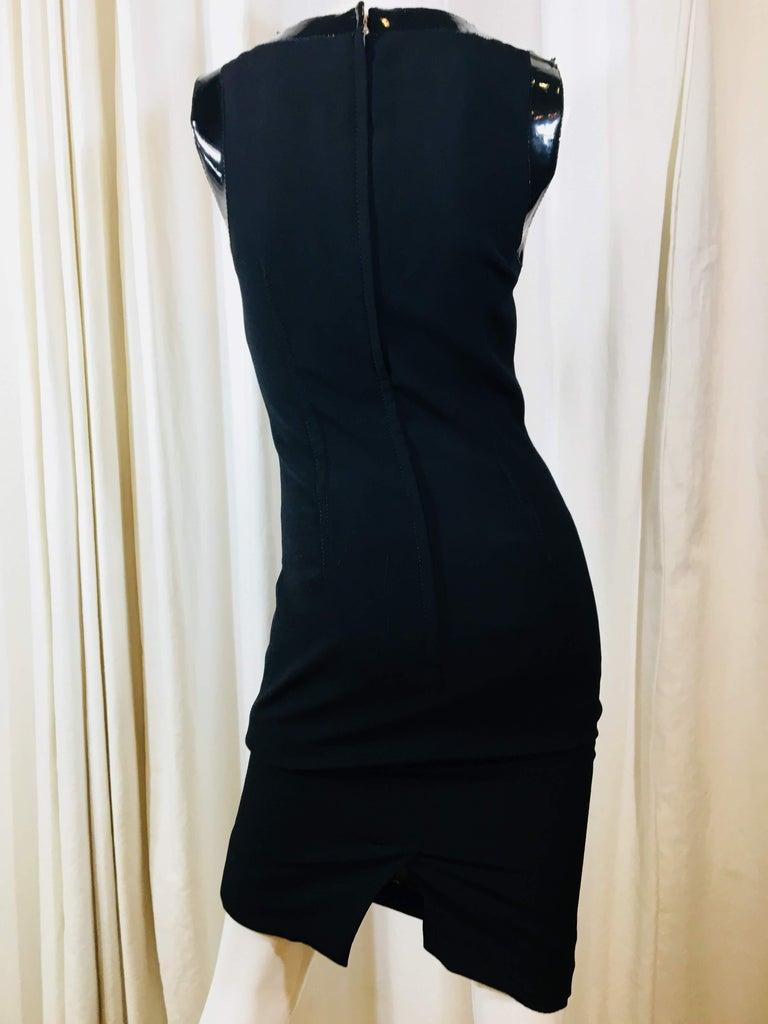 Dolce & Gabbana Black Sleeveless Dress For Sale 2