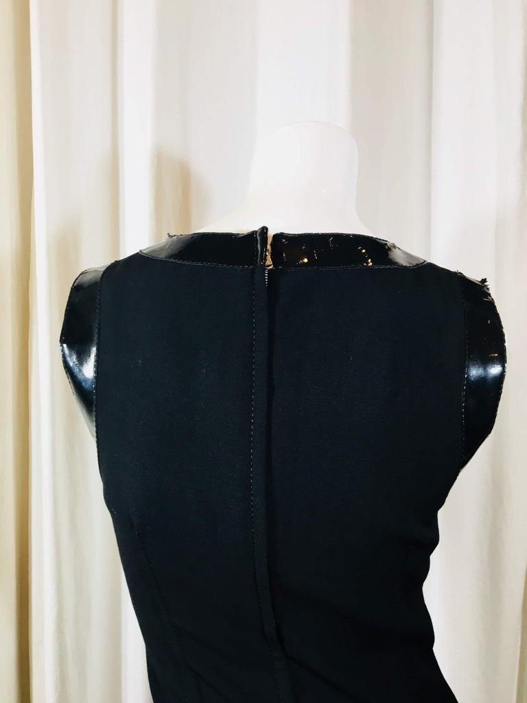 Dolce & Gabbana Black Sleeveless Dress For Sale 3