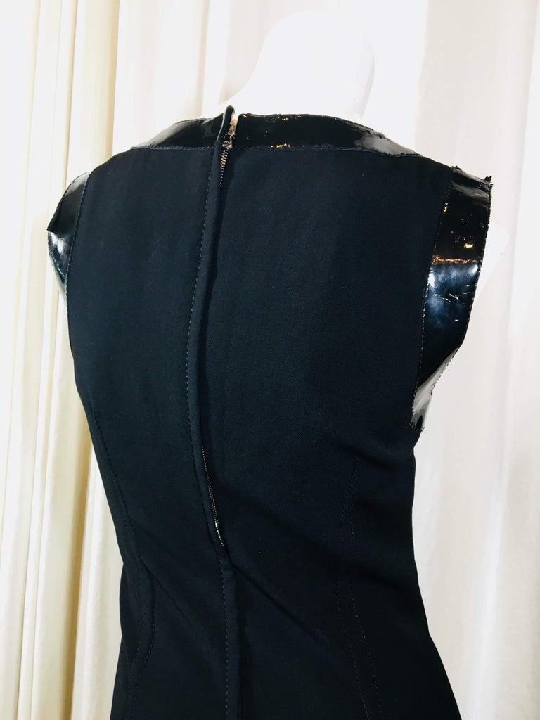Dolce & Gabbana Black Sleeveless Dress For Sale 4