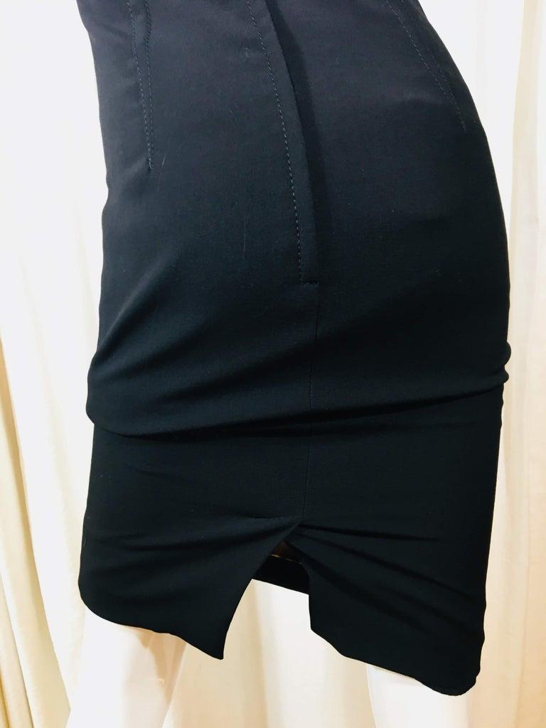 Dolce & Gabbana Black Sleeveless Dress For Sale 5