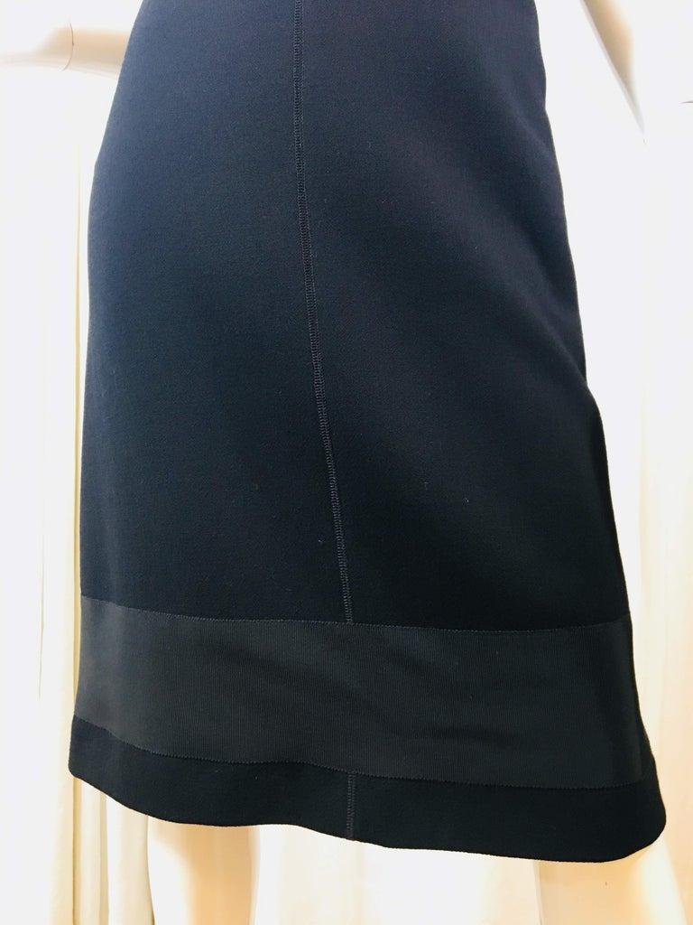 Prada Black Spaghetti Strap Dress  In Good Condition For Sale In Southampton, NY