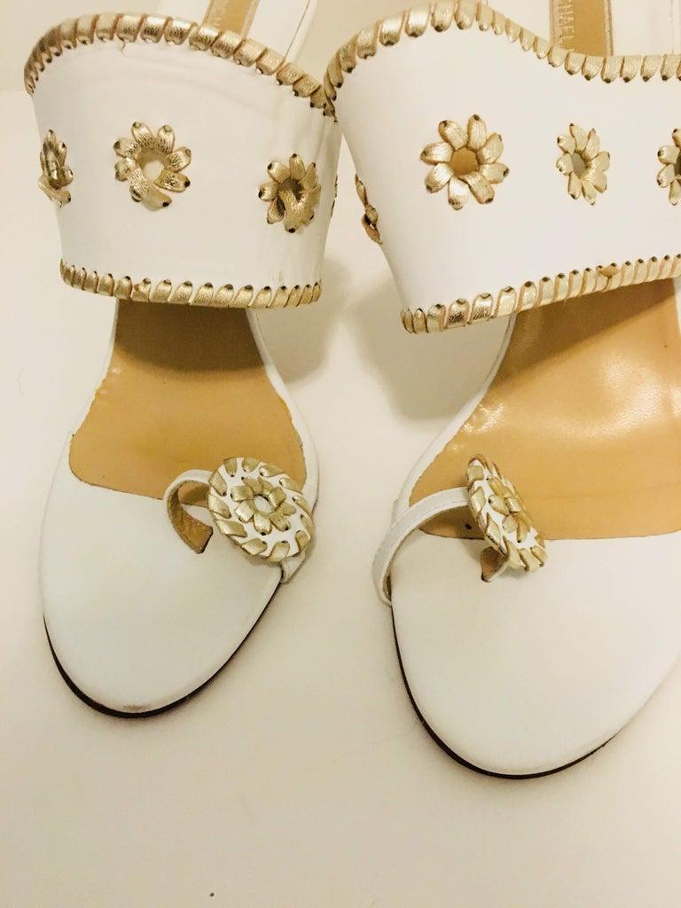 Beige Michael Kors Sandals For Sale