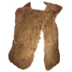 Rachel Comey Cropped Fur Vest