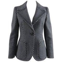 Prada Fall 2014 Grey Wool Jacket