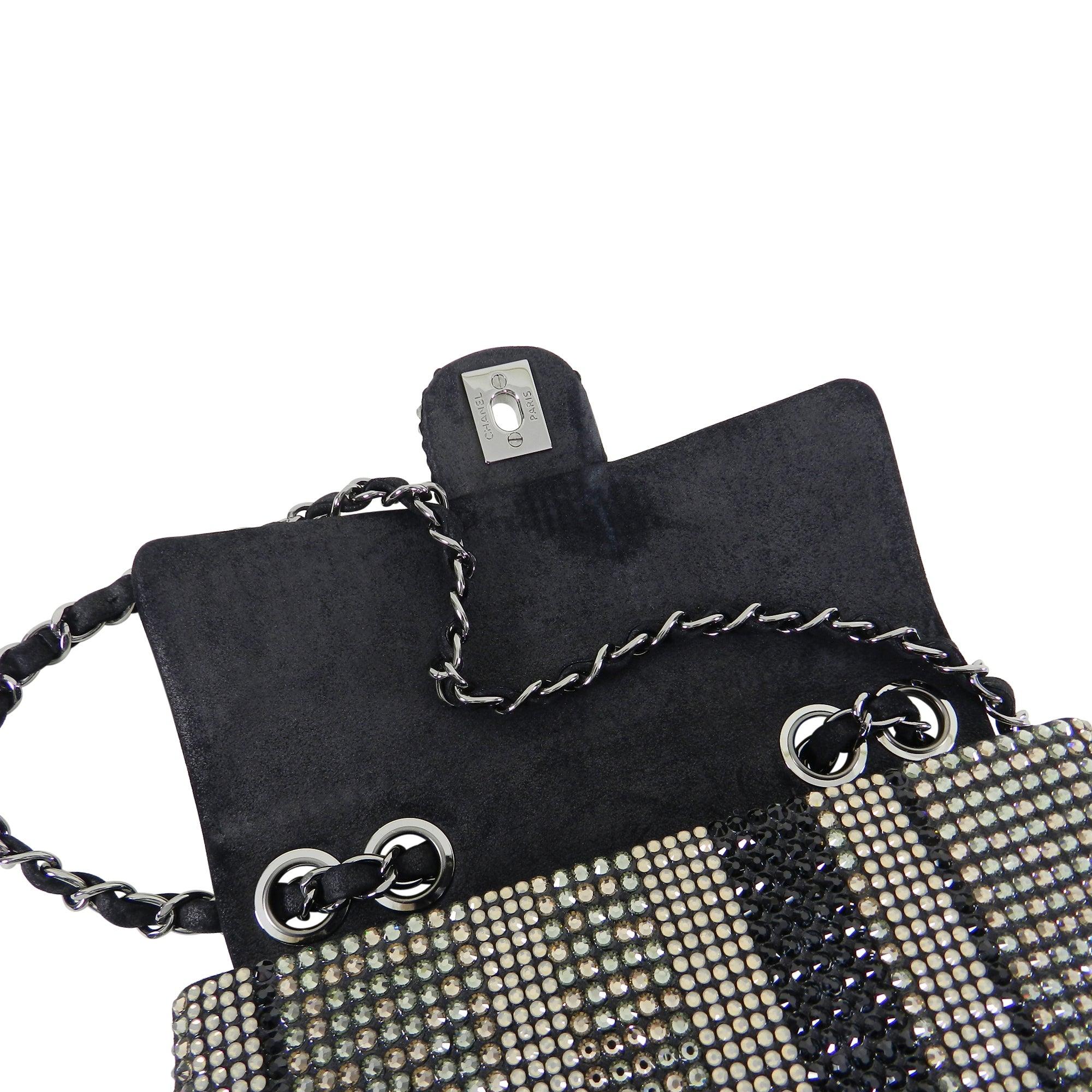 a8659df6a82d Chanel Strass swarovski crystal Mini Flap Bag at 1stdibs