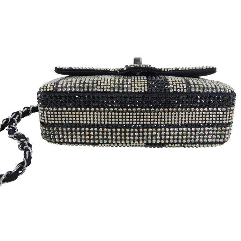 56244a558130 Chanel Strass swarovski crystal Mini Flap Bag For Sale 1