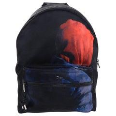 Christian Dior Homme – X Francois Bard spring 2018 Floral backpack