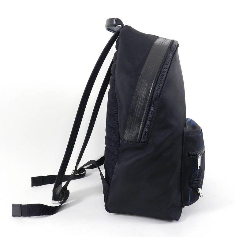 Men's Christian Dior Homme – X Francois Bard spring 2018 Floral backpack  For Sale