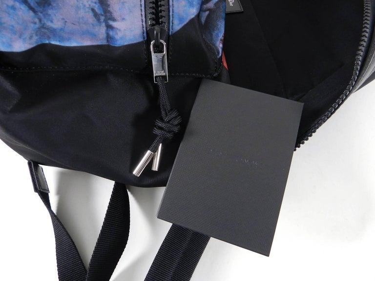 Christian Dior Homme – X Francois Bard spring 2018 Floral backpack  For Sale 3