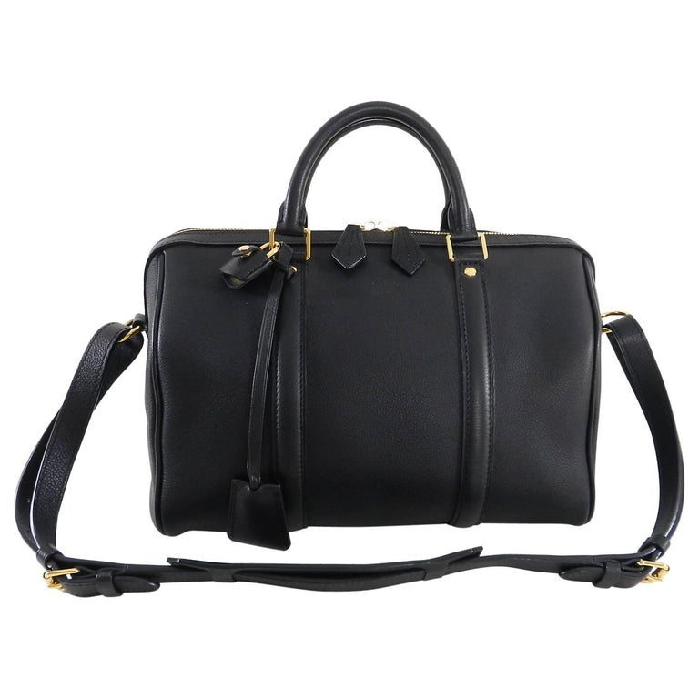 Louis Vuitton Black Mm Sofia Coppola Boston Bag For