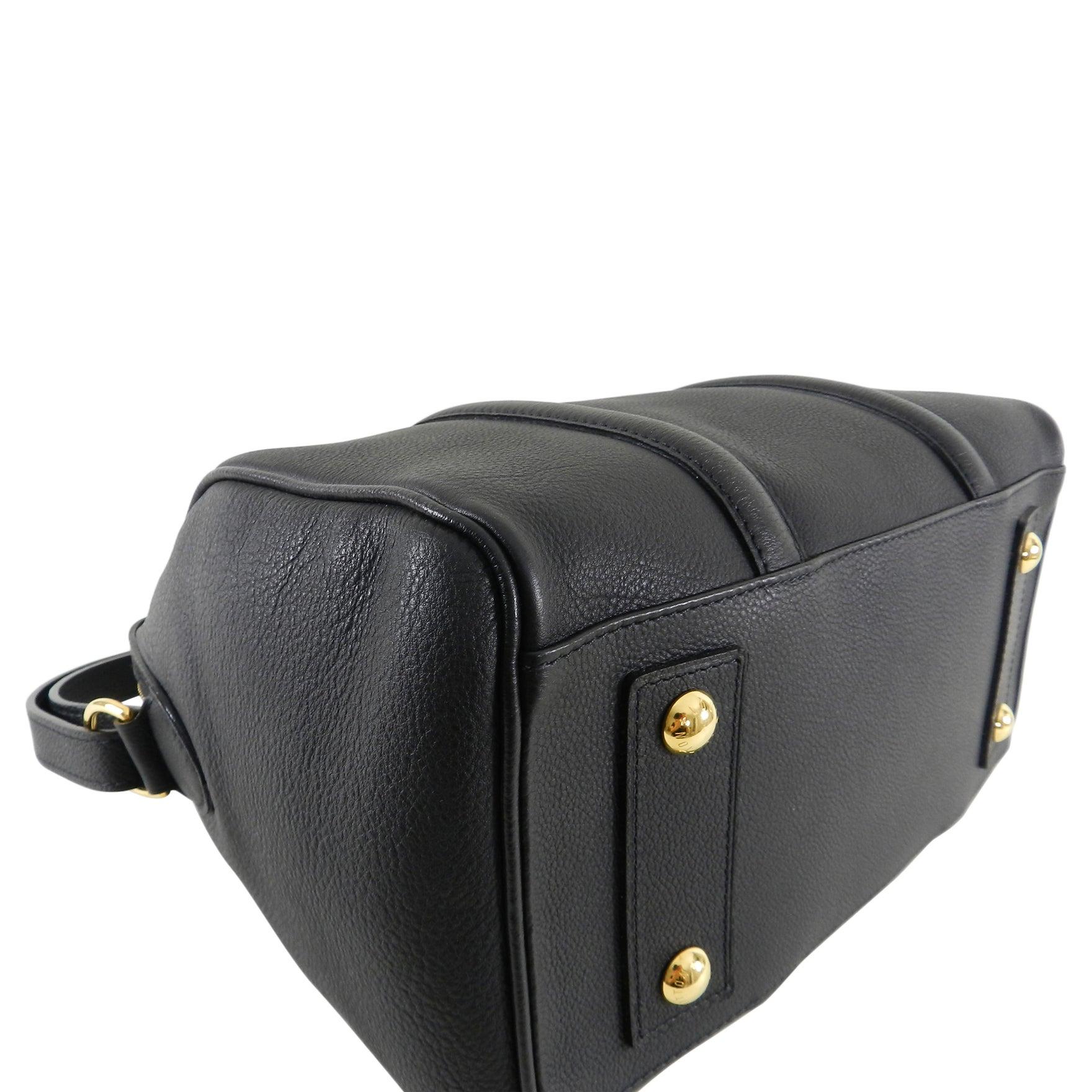 80c8a45113ab Louis Vuitton Black MM Sofia Coppola Boston Bag at 1stdibs