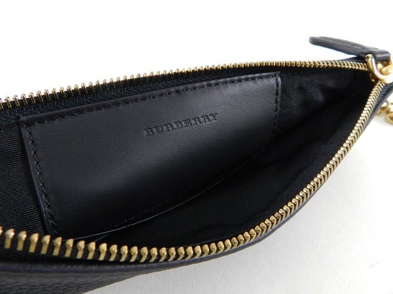 Women s Burberry Black Peyton Embossed Logo Zip Crossbody Bag For Sale 7f4f497e7c