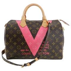 Louis Vuitton Limited Edition Monogram Grenade Speedy 30