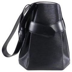 Louis Vuitton Vintage Black Epi Sac d'Epaule Bag
