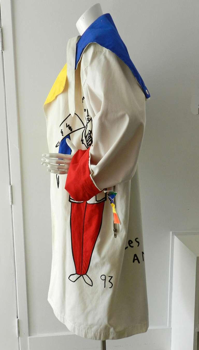 Ko and Co by Jean-Charles de Castelbajac Les Trois Amis Coat 3