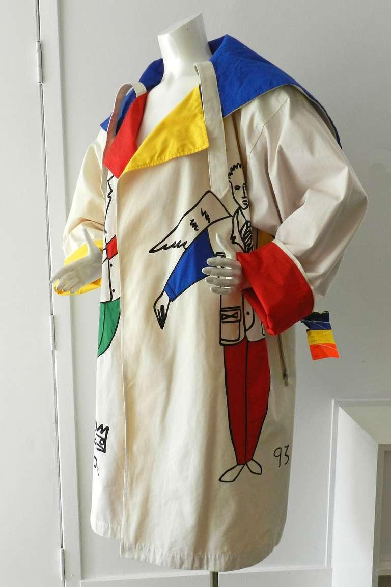 Ko and Co by Jean-Charles de Castelbajac Les Trois Amis Coat 6