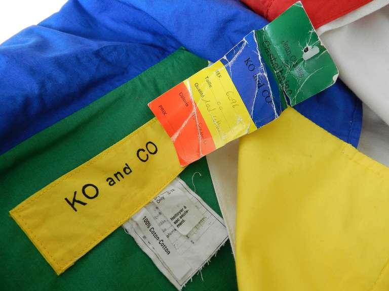 Ko and Co by Jean-Charles de Castelbajac Les Trois Amis Coat 7