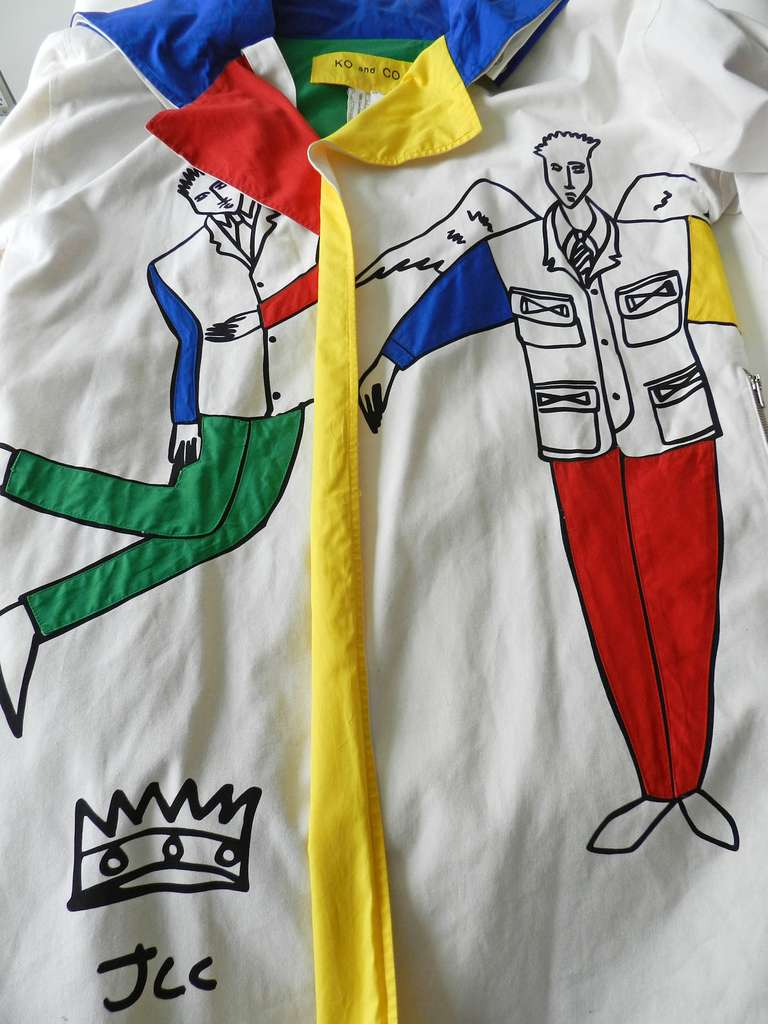 Ko and Co by Jean-Charles de Castelbajac Les Trois Amis Coat 8