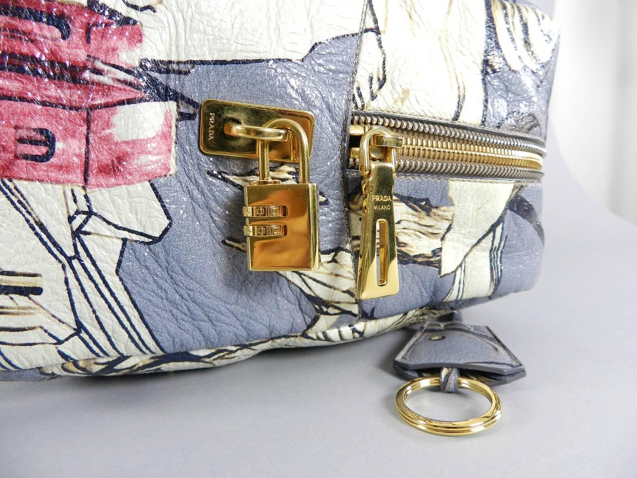11cf974d4dd7 Prada Fairy Bag - Limitied Edition James Jean For Sale 6