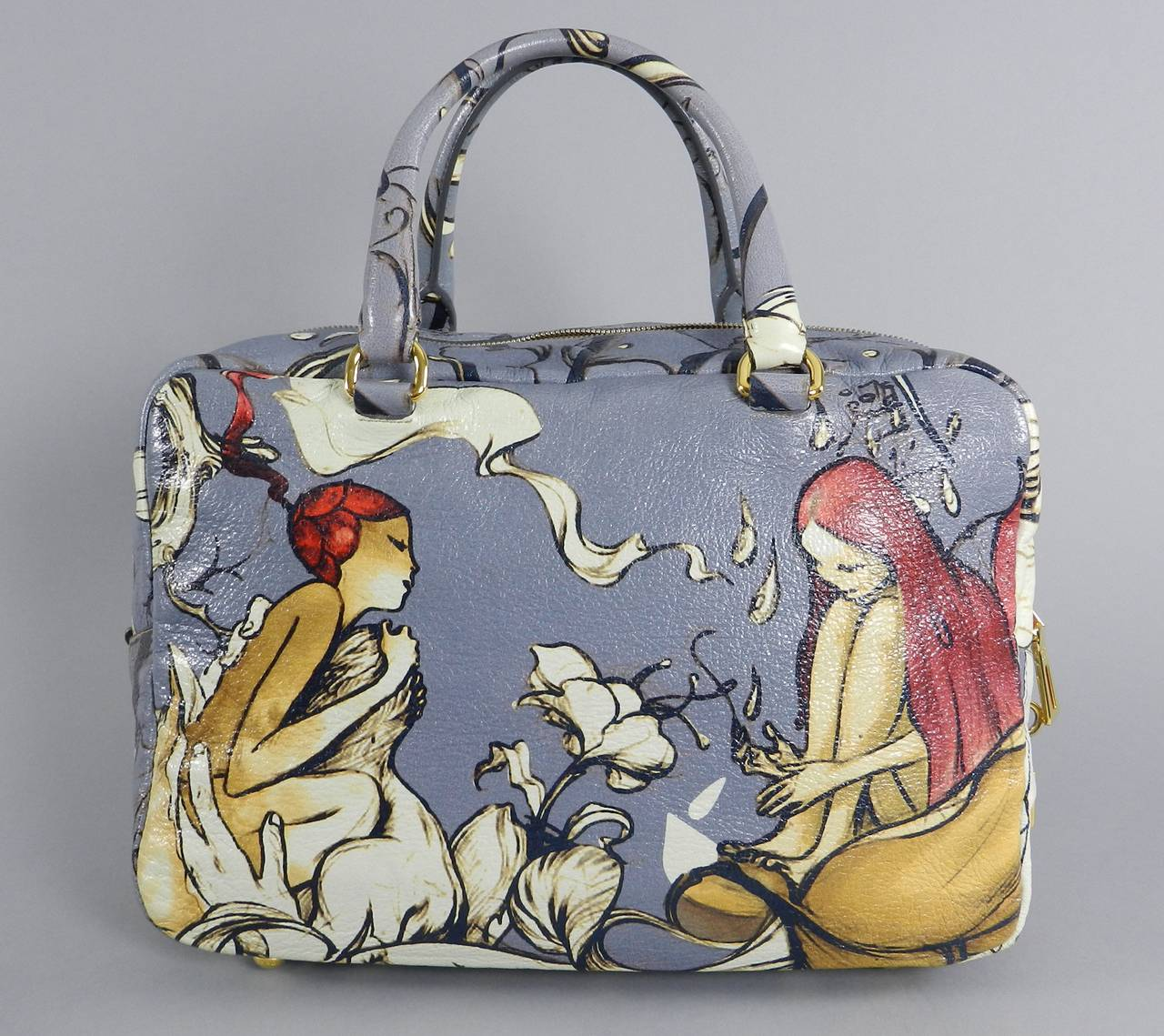 Prada Fairy Bag - Limitied Edition James Jean at 1stdibs