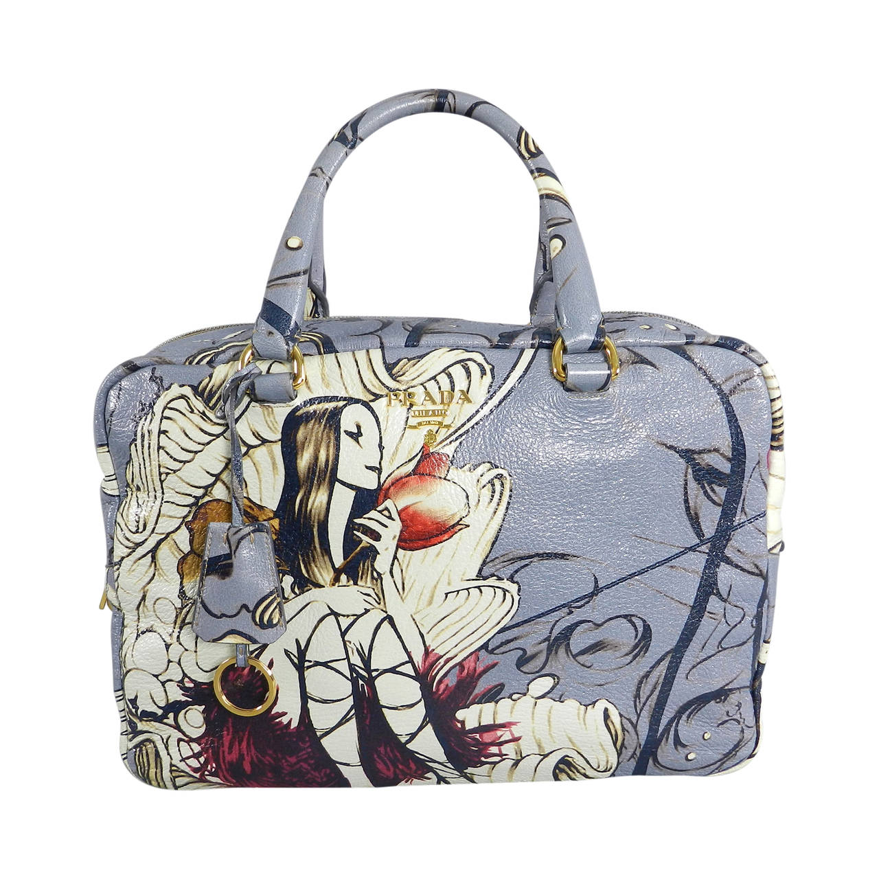 e9212b3f97b7 Prada Fairy Bag - Limitied Edition James Jean at 1stdibs