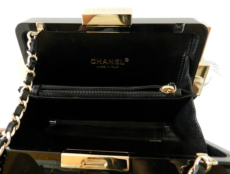 fee692ef5546 Chanel Lego Brick Bag 2013 Black and Gold For Sale 1