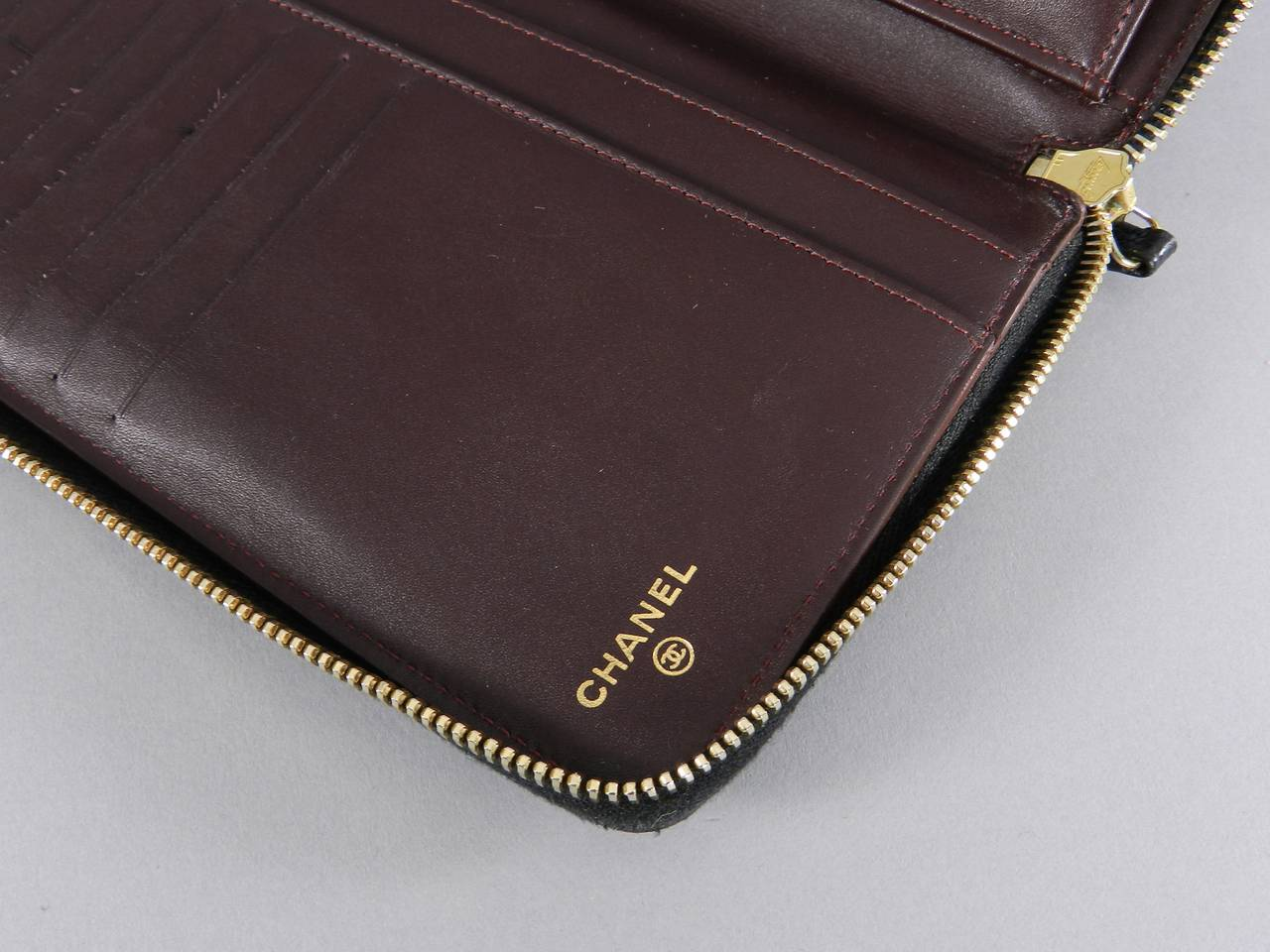 c227e366a140 Chanel Large Zip Wallet - Best Photo Wallet Justiceforkenny.Org