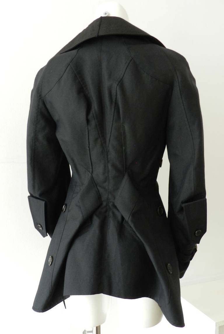 Black Junya Watanabe Comme des Garcons 2006 Runway Jacket For Sale