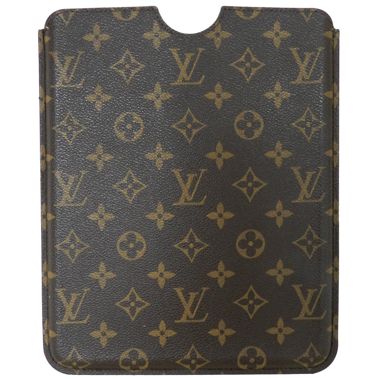 3bbc7cee0a5e Louis Vuitton Monogram Ipad Hard Case at 1stdibs