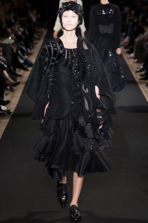 Junya Watanabe Comme des Garcons Fall 2014 Runway Tulle Skirt In New never worn Condition For Sale In Toronto, CA