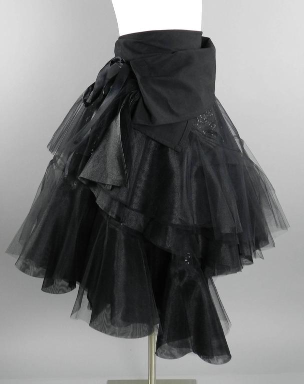 Junya Watanabe Comme des Garcons Fall 2014 Runway Tulle Skirt For Sale 1