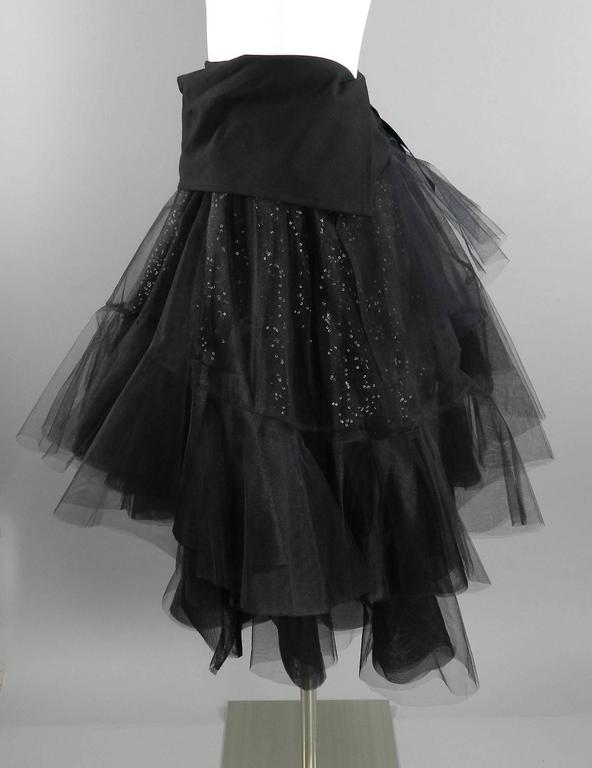Junya Watanabe Comme des Garcons Fall 2014 Runway Tulle Skirt For Sale 3