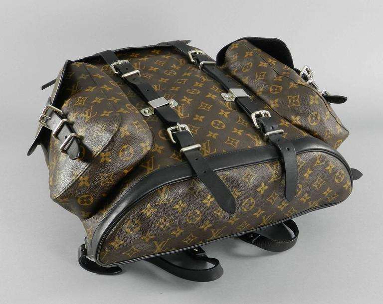 louis vuitton monogram christopher backpack at 1stdibs