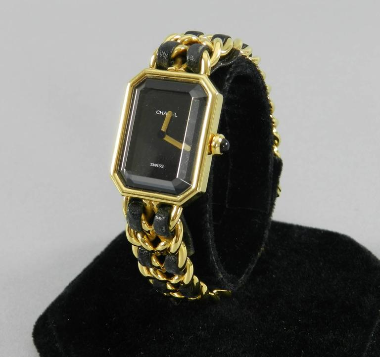 df4865275b04 Chanel Vintage 1987 Premiere Watch In Excellent Condition For Sale In  Toronto