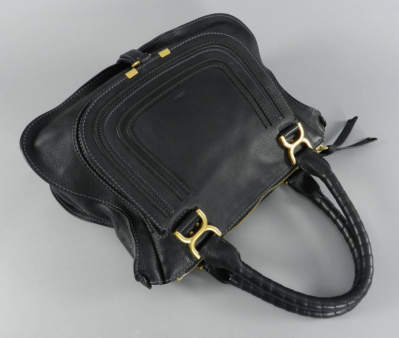 Chloe Black Marcie Bag at 1stdibs