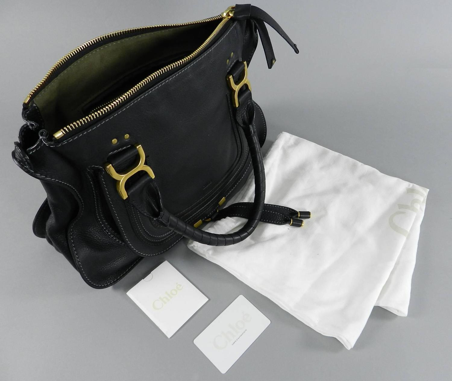 Chloe Black Marcie Bag at 1stdibs