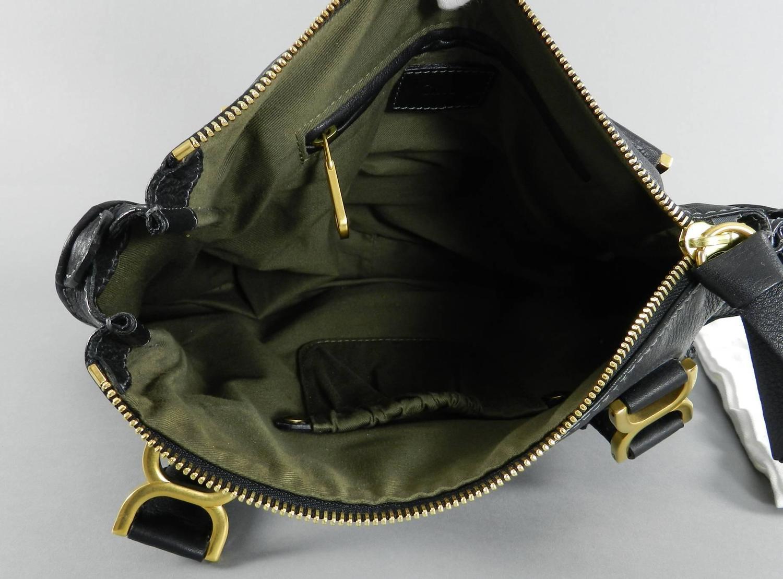knock off chloe bag - chloe bicolor baylee satchel leather mini, choloe bags