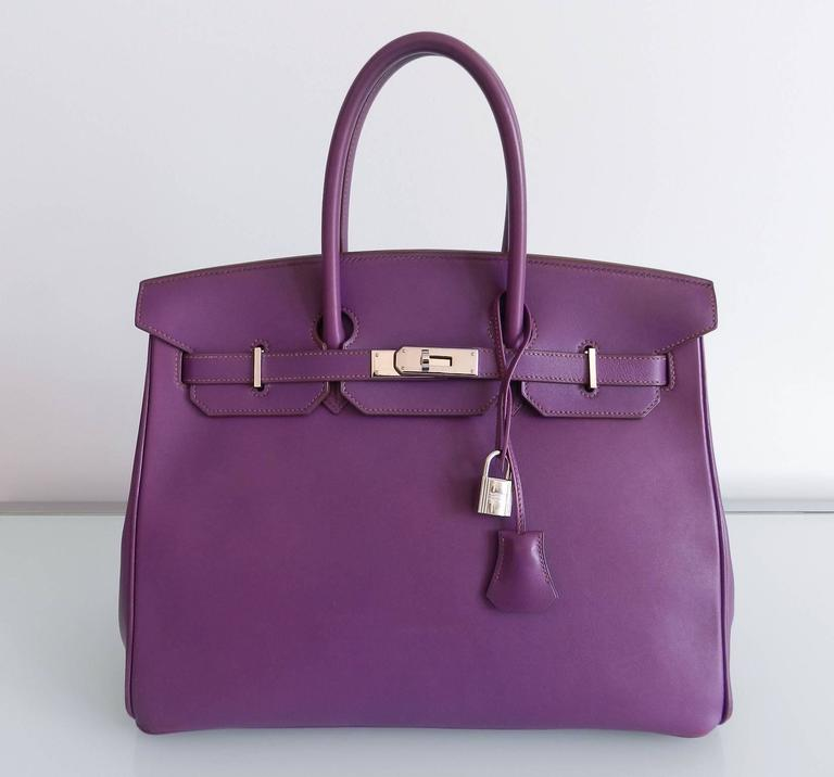 eed97059f260 Hermes Purple Birkin 35 in Ultraviolet