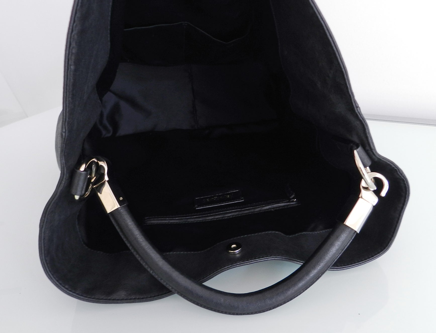 75f84bb66d Yves Saint Laurent Black Roady Tote Bag at 1stdibs