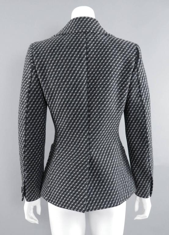 Prada Fall 2014 Grey Wool Jacket  3